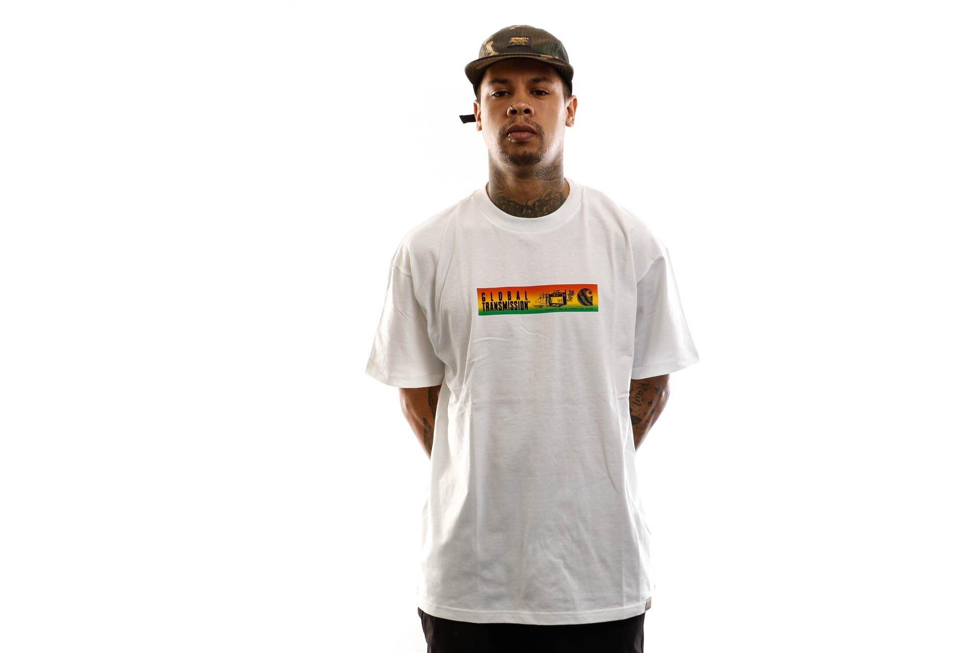 Afbeelding van Carhartt T-shirt S/S Transmission T-Shirt White I027806