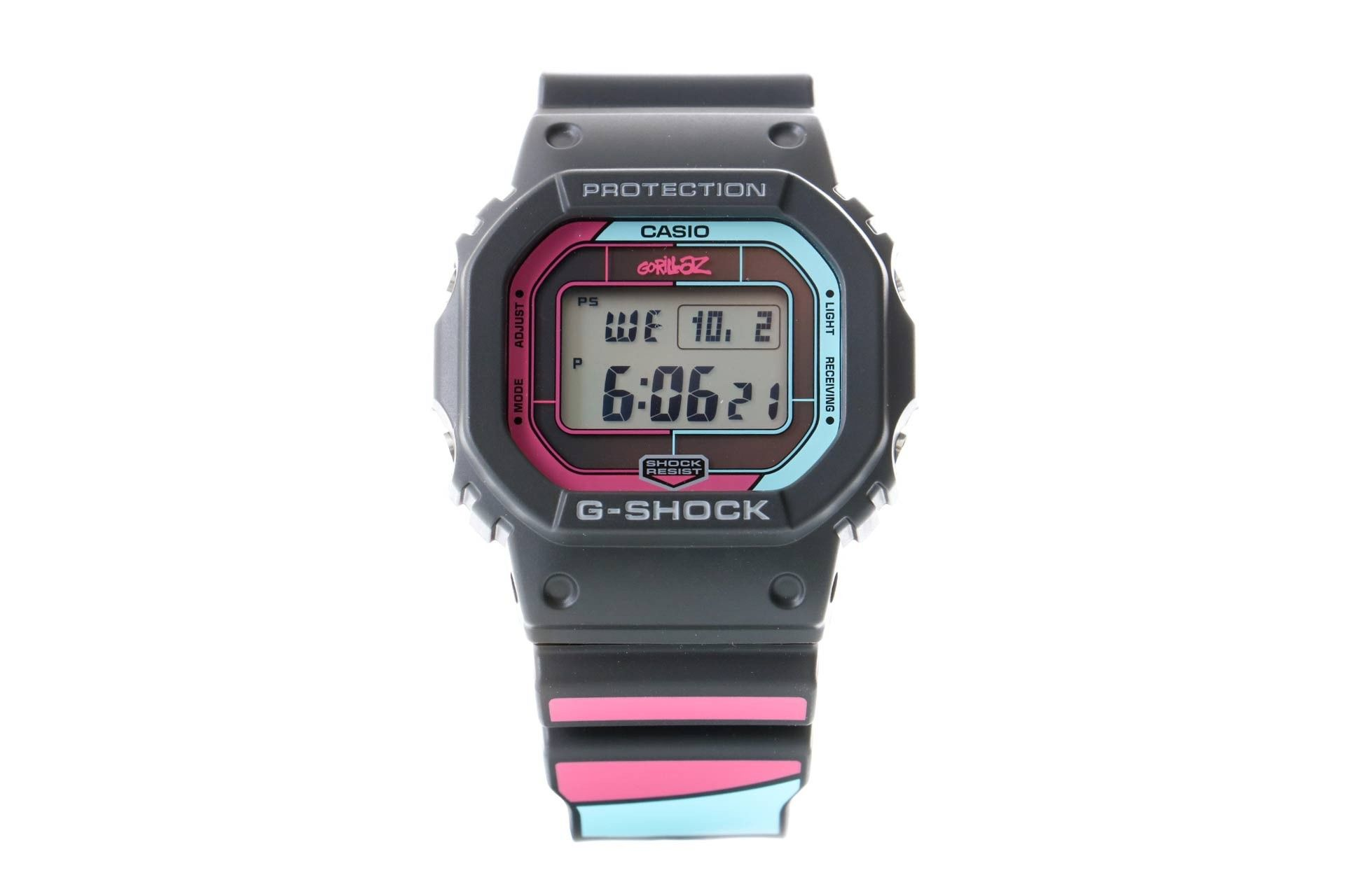 Afbeelding van Casio Horloge G-Shock X Gorillaz GW-B5600GZ Black/multi GW-B5600GZ