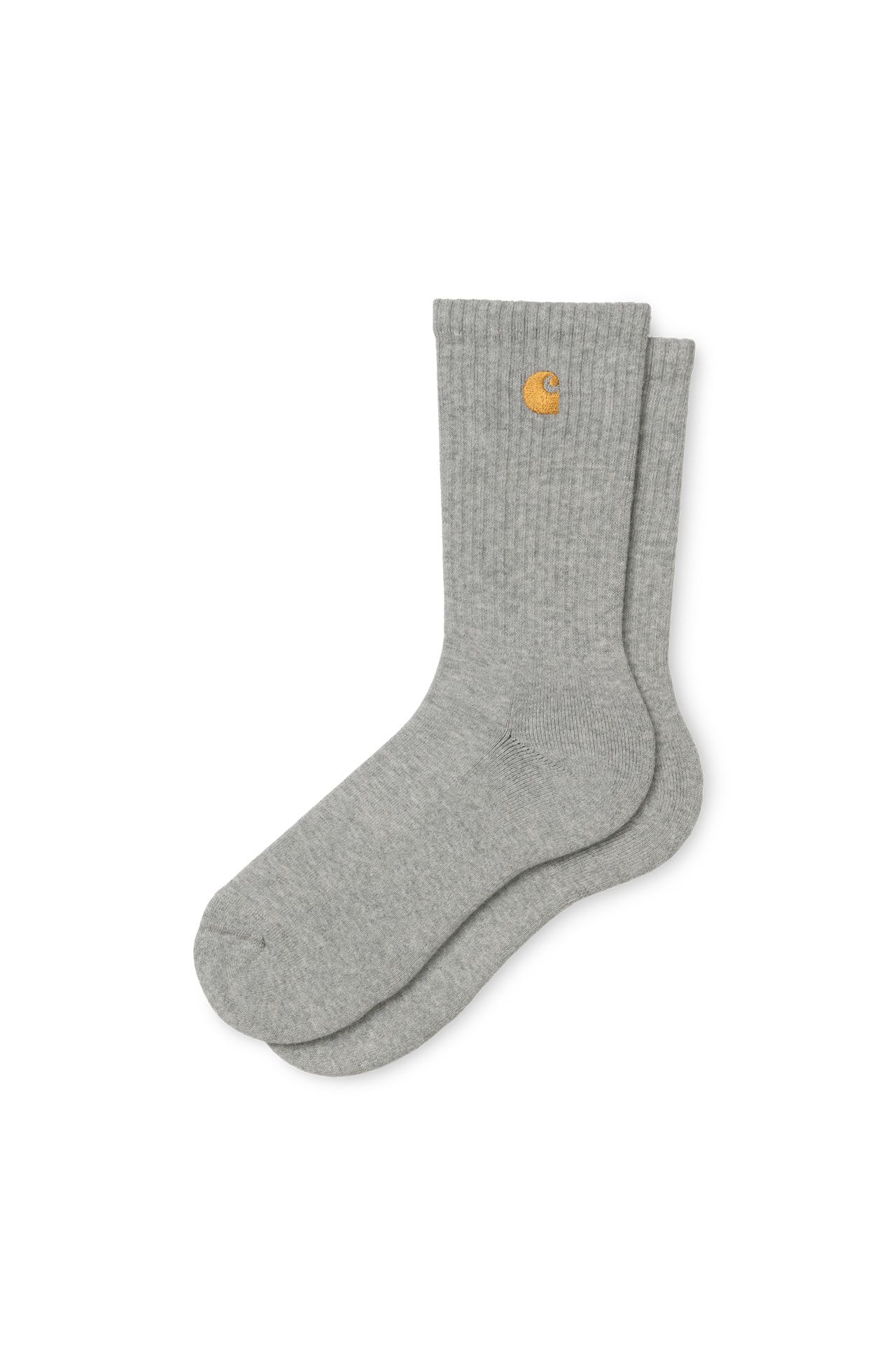 Afbeelding van Carhartt Sokken Chase Socks Grey Heather / Gold I026527
