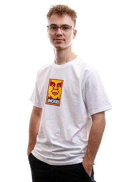 Afbeelding van Dickies T-Shirt Oby6 Tshirt Obey Mens White DK0A4TNJWHX1