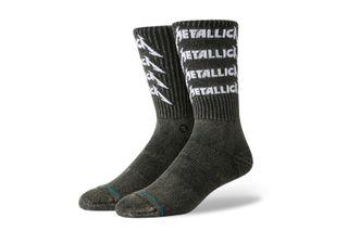 Foto van Stance Metallica Stack U556D19Mes Sokken Black