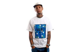 Foto van Vans T-Shirt MN CLASSIC PRINT BOX White/Dart Floral VN0A5E7YZAH1