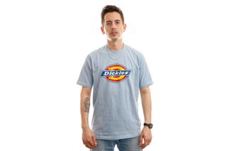Foto van Dickies T-shirt Icon Logo Tee Fog Blue DK0A4XC9B551