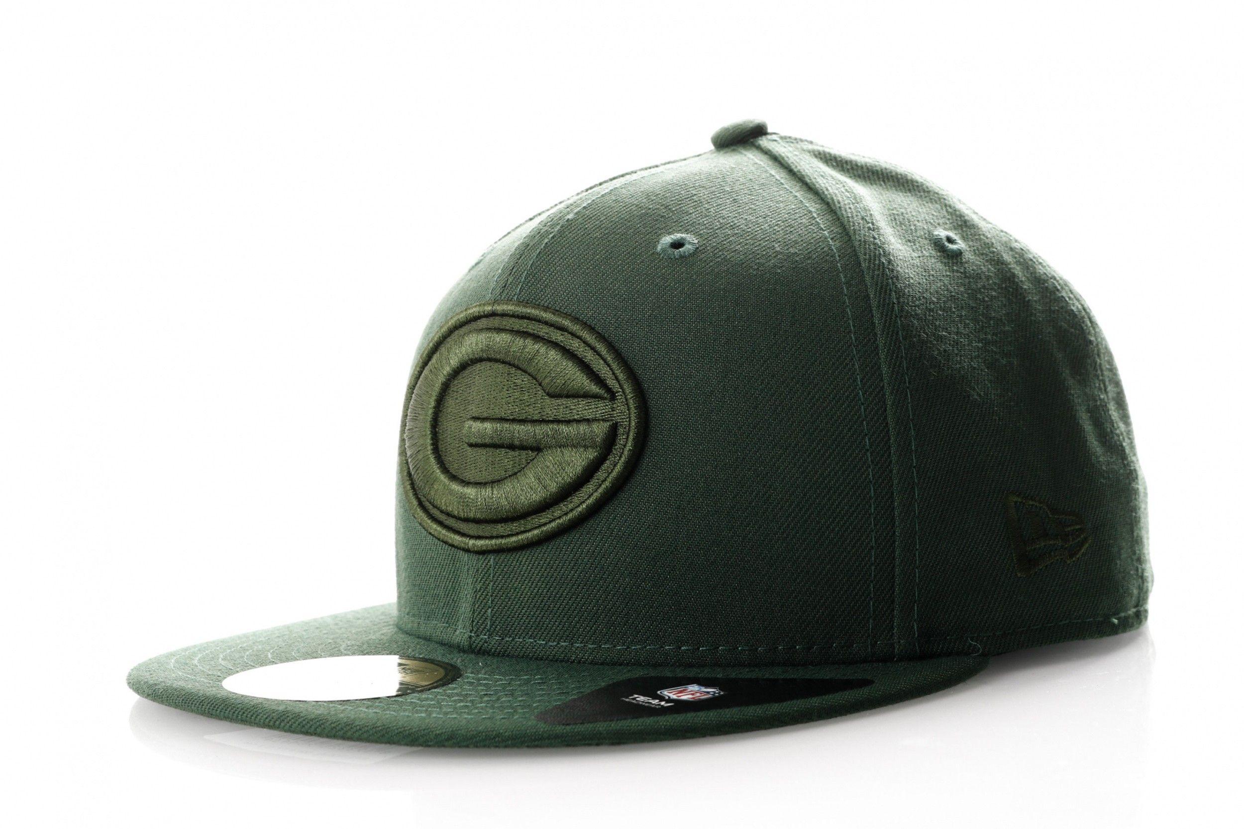 Afbeelding van New Era Fitted Cap Green Bay Packers NFL Tonal 11946270
