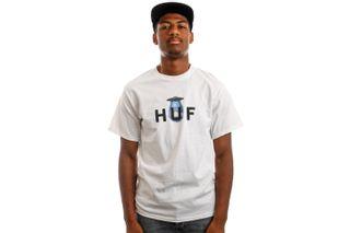 Foto van HUF T-Shirt HUF ABDUCTED S/S White TS01502