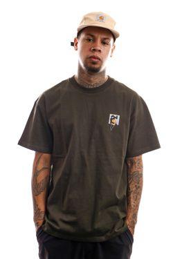 Afbeelding van Carhartt T-shirt S/S Teef T-Shirt Cypress I029025