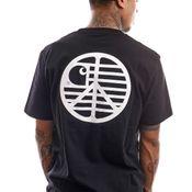 Carhartt T-shirt S/S Peace State T-Shirt Black / White I028931