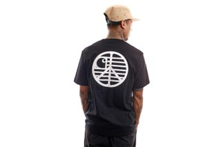 Foto van Carhartt T-shirt S/S Peace State T-Shirt Black / White I028931