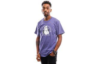 Foto van HUF T-Shirt Forever Whatever Omen S/S Tee Purple Ts01172-Purpl