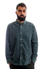 Carhartt Blouse L/S Madison Cord Shirt Eucalyptus / Black I029958