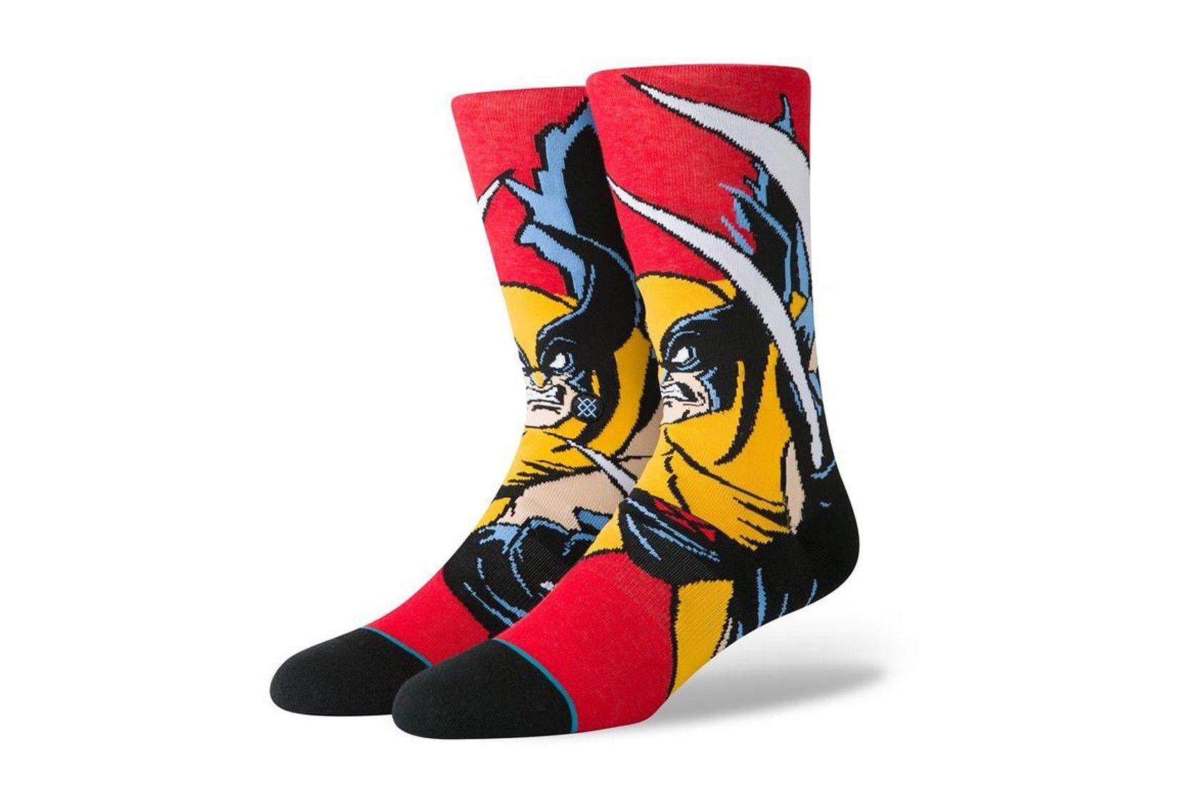 Afbeelding van Stance Xmen Wolverine U545D19Xmw Sokken Red