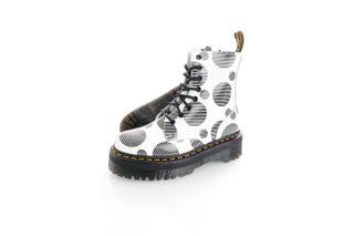 Foto van Dr.Martens Boots Jadon White/Black Polka Dot Smooth 26882101