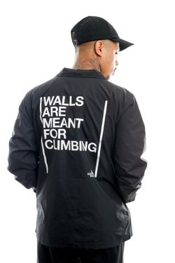 Afbeelding van The North Face Jas Walls Coaches Jkt Tnf Black NF0A4VUOJK31