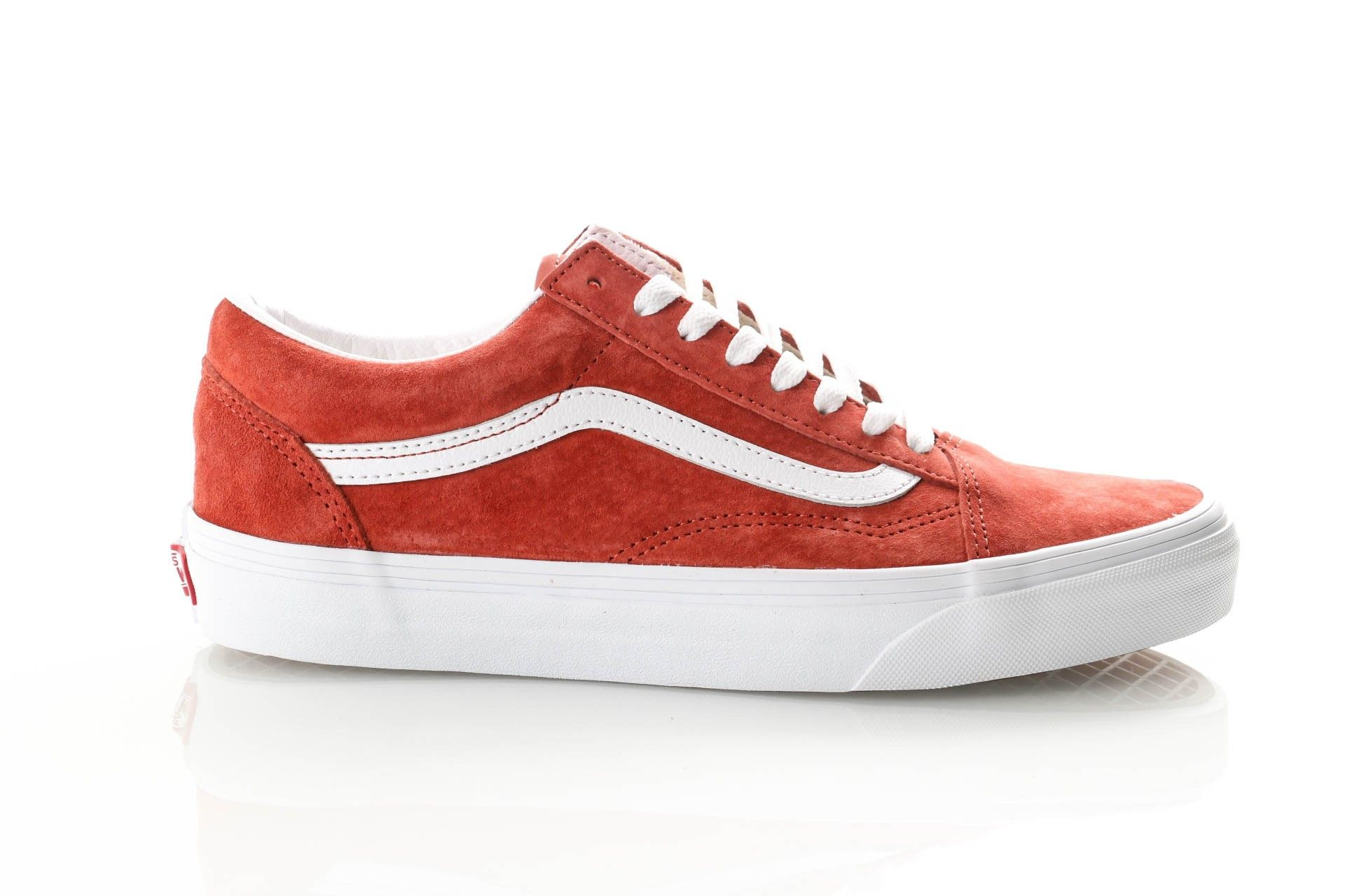 Afbeelding van Vans Ua Old Skool Vn0A4Bv5V751 Sneakers (Pig Suede) Burnt Brick/True White