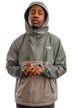 Afbeelding van The North Face Jas Men's Cyclone Anorak AGAVGRN/MNRLGRY NF0A5A3H0HF1