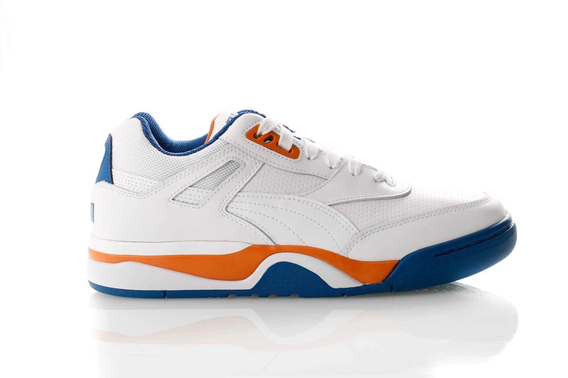 Afbeelding van Puma Palace Guard 370063 05 Sneakers Puma White-Jaffa Orange-Galaxy Blue