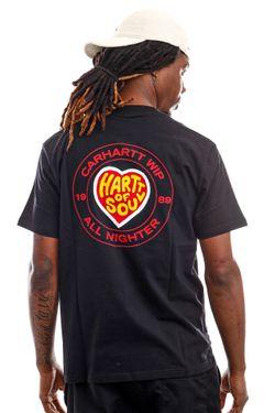 Afbeelding van Carhartt WIP T-shirt S/S Hartt Of Soul T-Shirt Black I029036