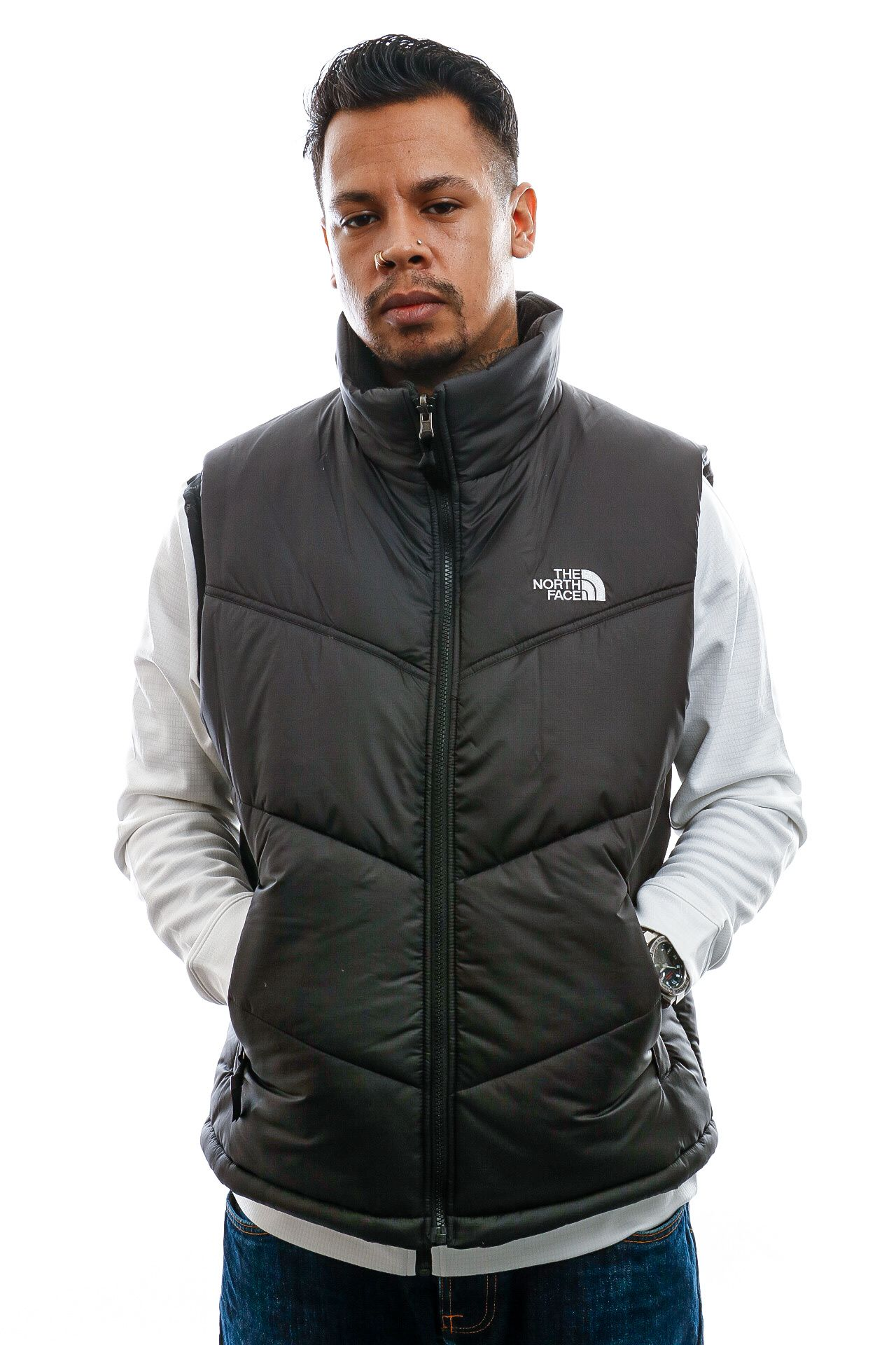 Afbeelding van The North Face Jacket Men's Saikuru Vest Black NF0A3Y3ZJK31