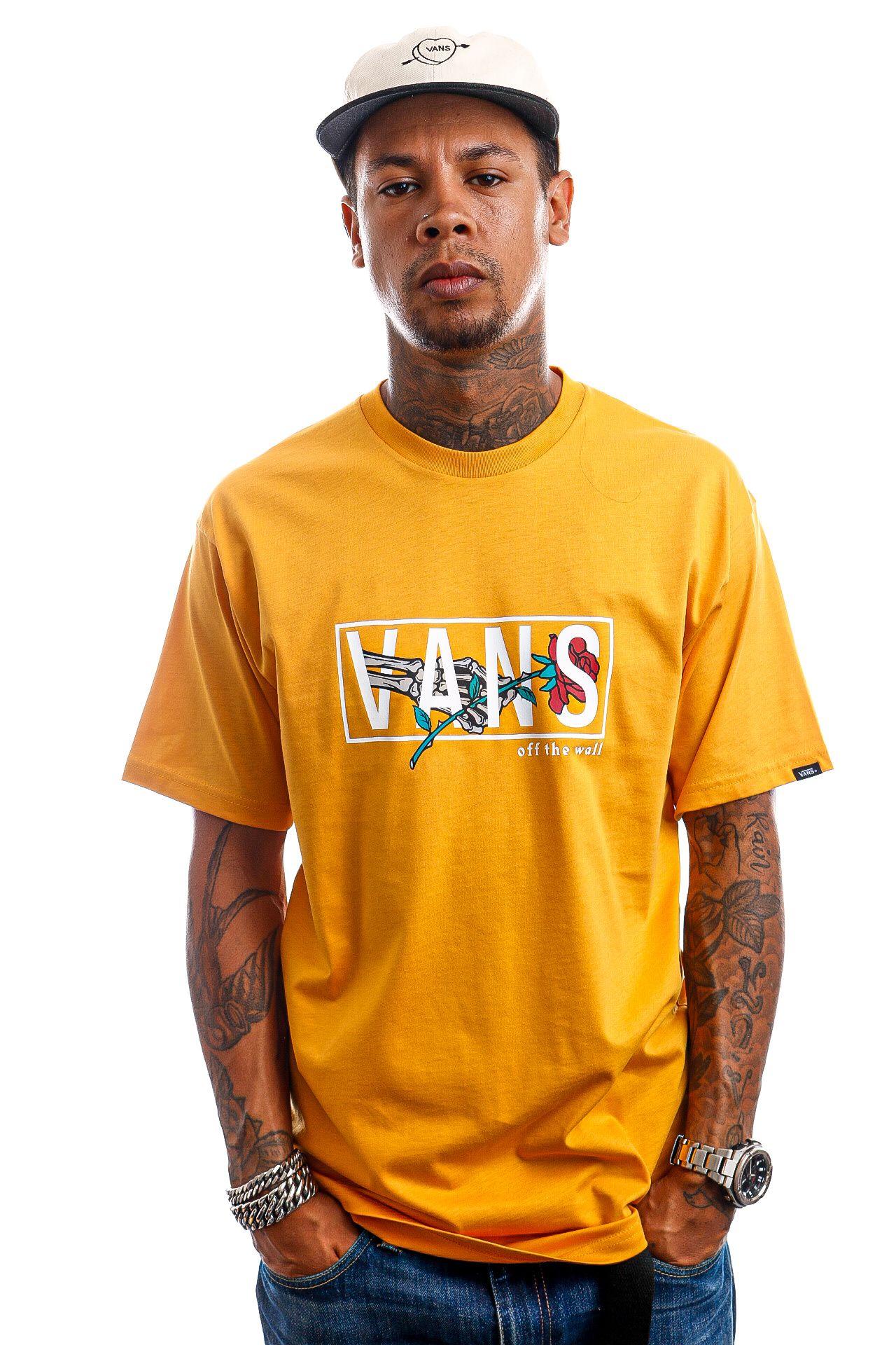 Afbeelding van Vans T-Shirt MN THORNED SS Golden Glow VN0A5KCMLSV1
