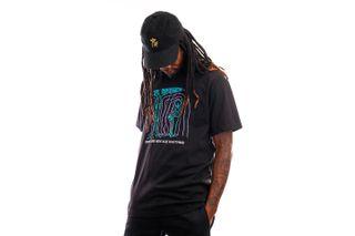 Foto van The Quiet Life T-shirt New Age Rhythms Tee Black QL-21SPD2-2130