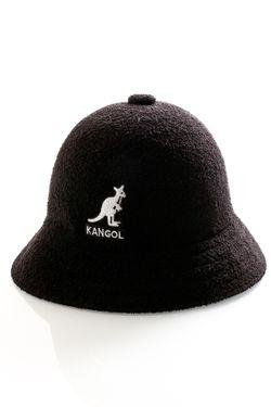 Afbeelding van Kangol Bucket Big Logo Casual Black K3407