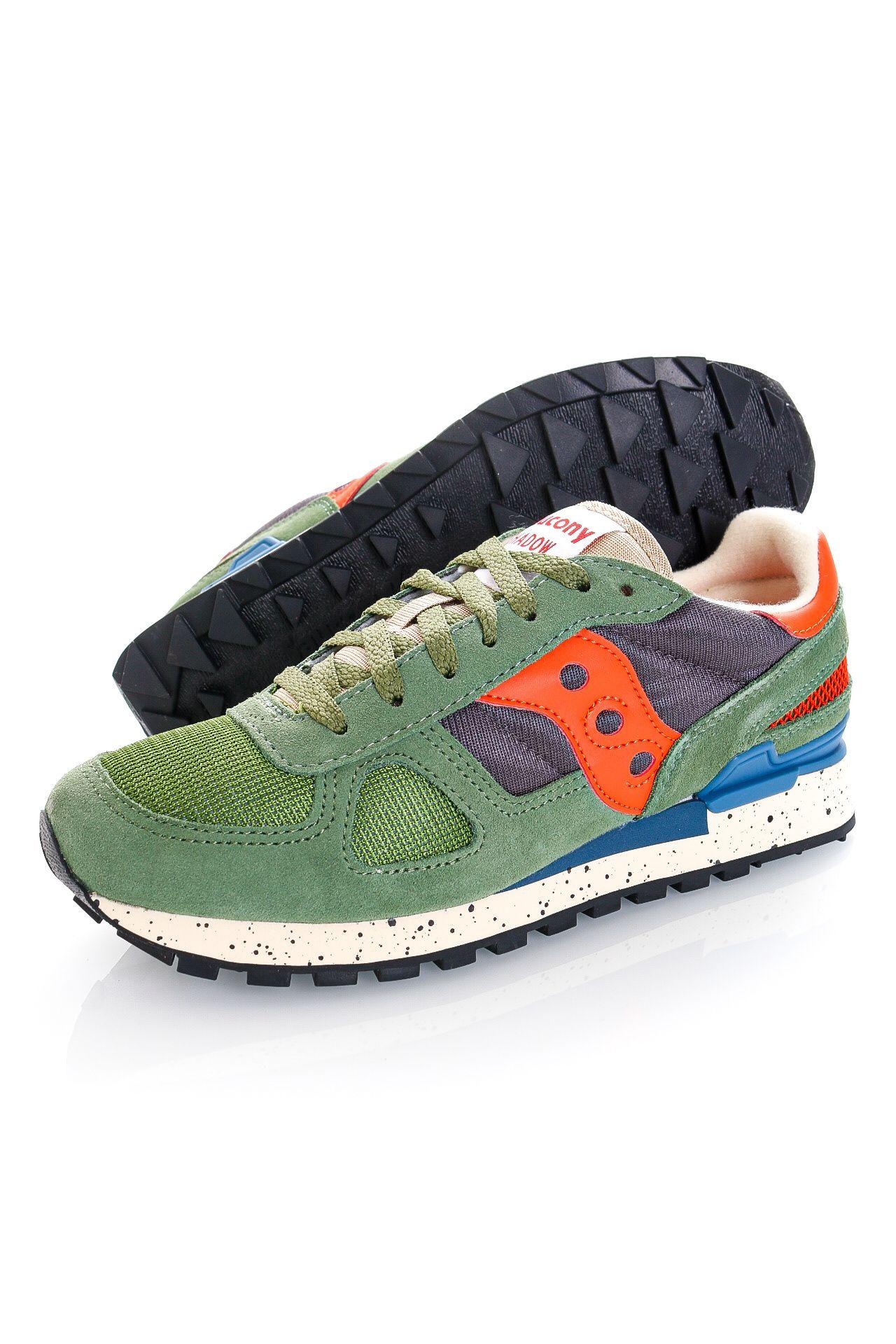 Afbeelding van Saucony Sneakers Shadow Original Green/Grey/Orange S2108-793