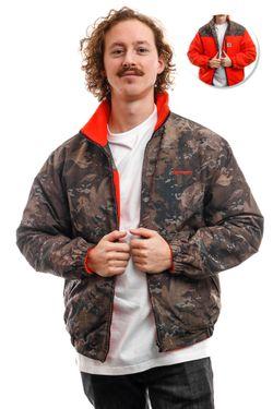 Afbeelding van Carhartt Jacket Denby Reversible Jacket Camo Combi / Safety Orange I028094