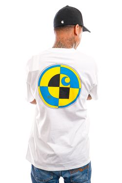 Afbeelding van Carhartt T-shirt S/S Test T-Shirt White I029940