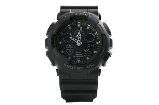 Foto van Casio G-Shock Ga-100L-1Aer Watch Ga-100L Zwart