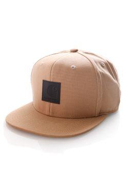 Afbeelding van Carhartt Snapback Cap Logo Cap Dusty H Brown I023099