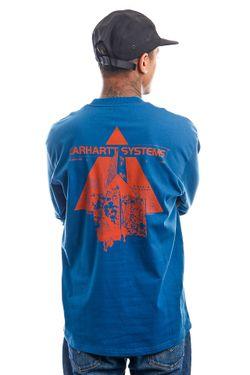 Afbeelding van Carhartt Longsleeve L/S Pyramid Skydive / Copperton I029622
