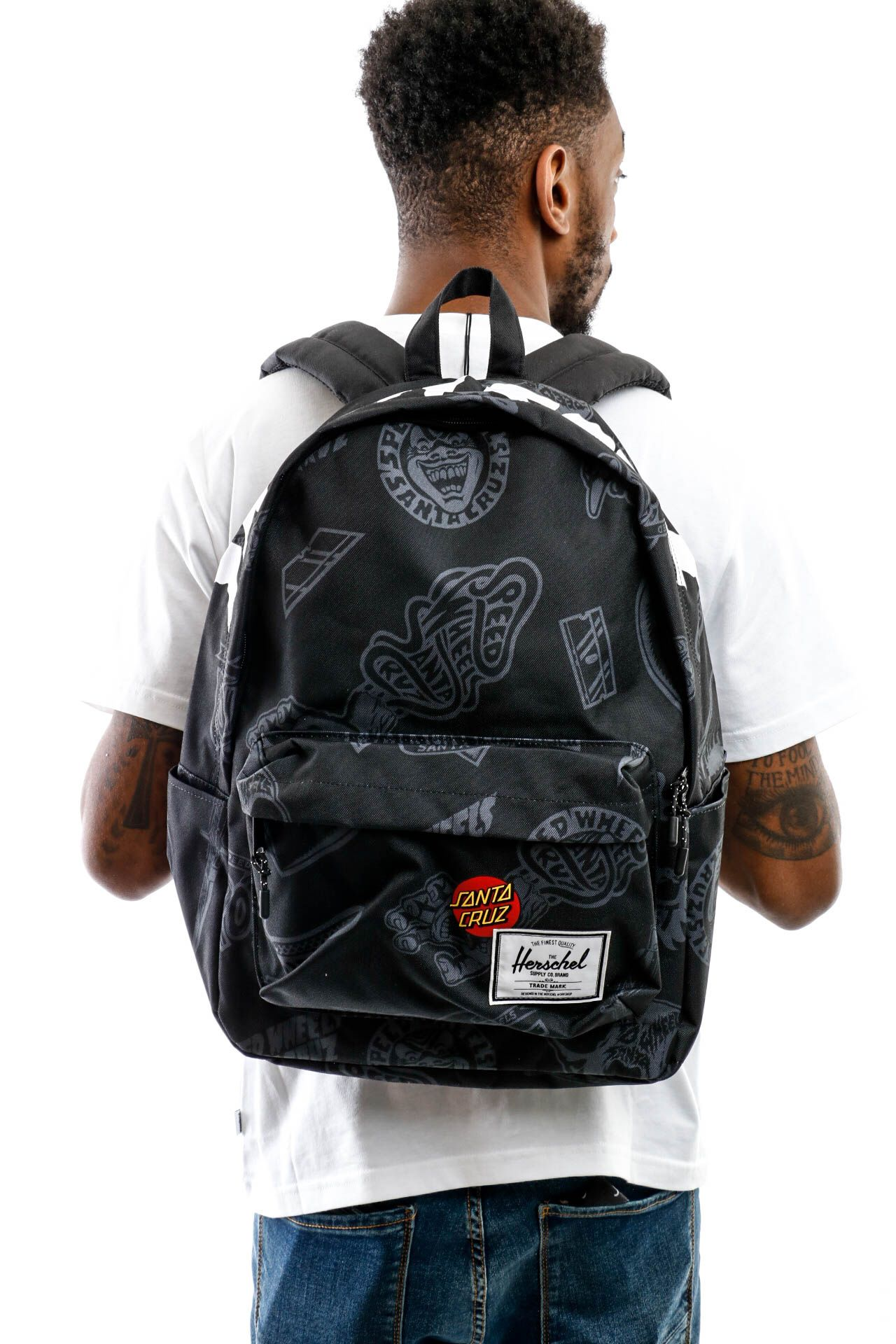 Afbeelding van Herschel Supply Rugtas Santa Cruz | Classic X-Large Speed Wheels Black 10492-04108