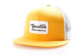 Foto van Brixton Grade Mesh Cap 232 Trucker Cap Nugget Gold