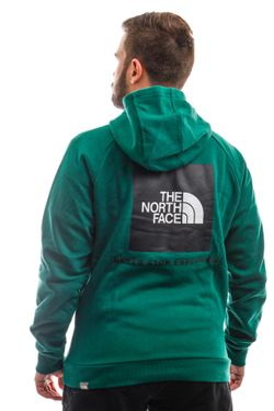 Afbeelding van The North Face Hooded M Raglan Red Box Hd Evergreen NF0A2ZWUNL11