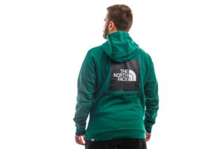 Foto van The North Face Hooded M Raglan Red Box Hd Evergreen NF0A2ZWUNL11