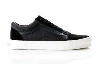 Foto van Vans Sneakers Ua Old Skool (Woven Check) Black/Snow Vn0A38G1Vko1