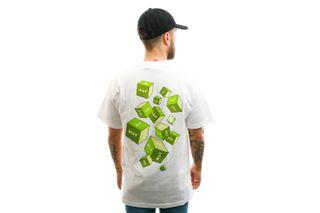 Foto van HUF T-shirt Huf 3D Box S/S Tee White TS01017-WHITE