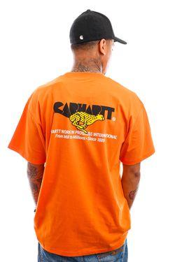 Afbeelding van Carhartt T-shirt S/S Runner T-Shirt Hokkaido I029934