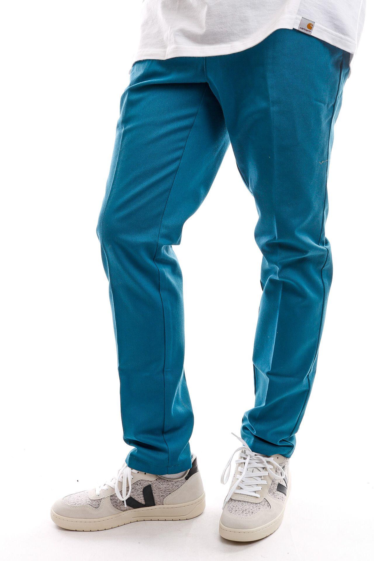 Afbeelding van Dickies Chinio Slim Fit Work Pnt Coral Blue DK0WE872CBL1