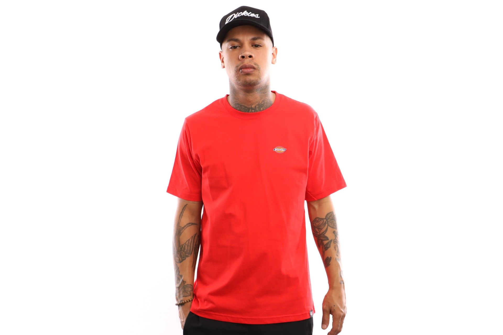 Afbeelding van Dickies Stockdale 06 210578 T Shirt Fiery Red