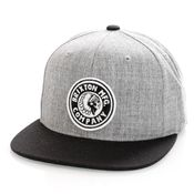 Brixton Snapback Rival MP Snapback Heather Grey/Black/Black 10856