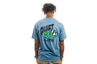 Foto van The Quiet Life T-Shirt Globe T Slate 21FAD1-1143