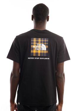 Afbeelding van The North Face T-Shirt Men's S/S Redbox Tee - Eu TNF Black NF0A2TX2VU91