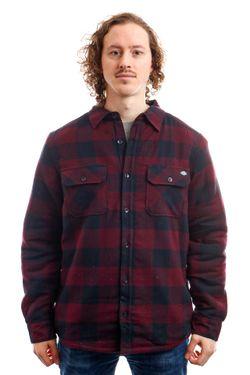 Afbeelding van Dickies Overhemd Lansdale Shirt Maroon DK520292MR01
