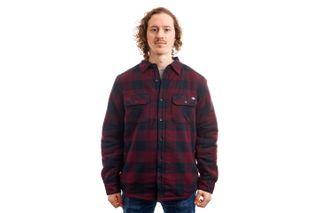 Foto van Dickies Overhemd Lansdale Shirt Maroon DK520292MR01