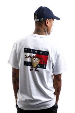 Afbeelding van Tommy Hilfiger T-shirt Tjm Looney Tunes Tee M1 White DM0DM08580