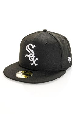 Afbeelding van New Era Chicago White Sox Fitted Cap MLB AC PERF 59FIFTY Black/White 12572845