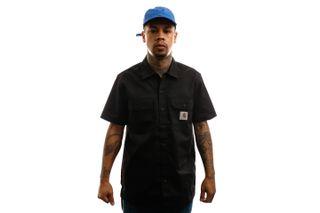 Foto van Carhartt Overhemd S/S Master Shirt Black I027580