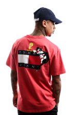 Tommy Hilfiger T-shirt Tjm Looney Tunes Tee M1 Sunset Rose DM0DM08580