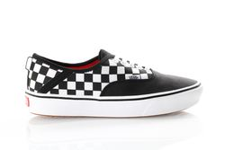 Afbeelding van Vans Ua Comfycush Authentic Sf Vn0A3Wm8Vn8 Sneakers (2 Tone) Black/Checkerboard